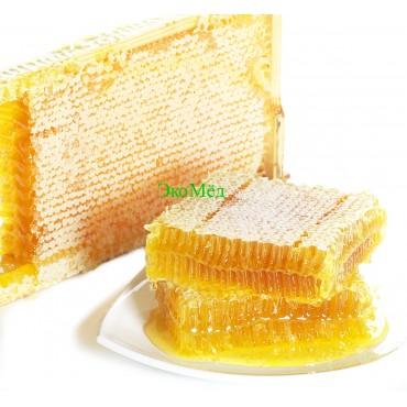 Мёд в сотах цветочный